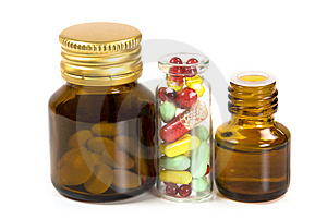 Medicine bottles Free Stock Photos