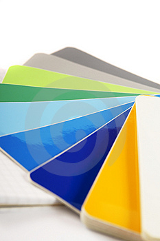 The Color Card. Stock Photos - Image: 4310023