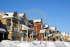 House On Winter Royalty Free Stock Images - Image: 4310809