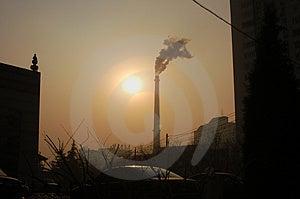 Declining Sun Stock Photos - Image: 4313543