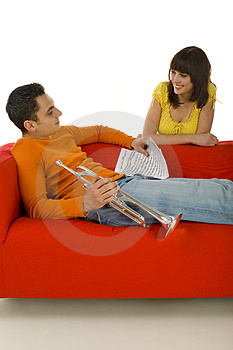 I'll Compose Music For You Royalty Free Stock Photos - Image: 4314908
