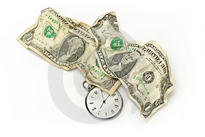 Money And Time Stock Photography - Image: 4315232