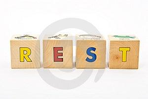 Rest Childrens Blocks Stock Images - Image: 4316444