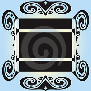 Scrolls And Text Blocks Royalty Free Stock Images - Image: 4317119
