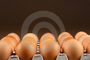 Eggs In Tray Royalty Free Stock Images - Image: 4320849
