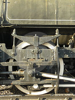 Locomotive Wheel Stock Photography - Image: 4332562