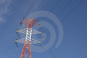 High Voltage Pylon Royalty Free Stock Image - Image: 4337086