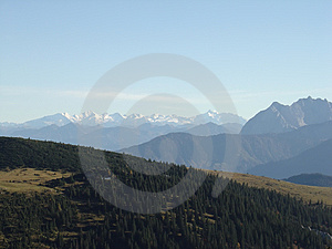Alps Peaks Stock Images - Image: 4341174
