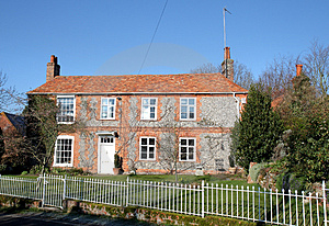 English Village House Stock Photography - Image: 4341182