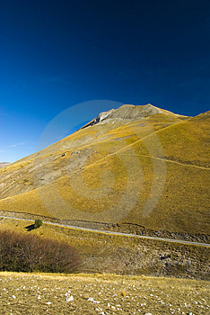 Mountain Monte Vettore - Italy Stock Photos - Image: 4342293