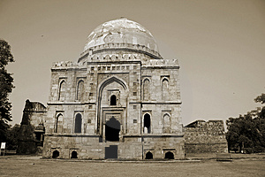 Mughal Architecture At Lodhi Gardens, Delhi Royalty Free Stock Photography - Image: 4345017