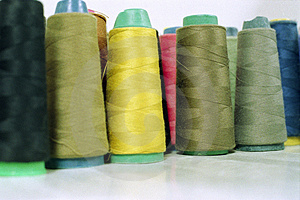 Sewing Thread Royalty Free Stock Images - Image: 4349099