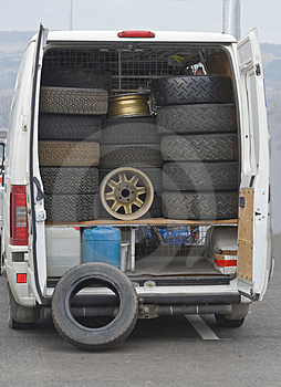 Wheels Truck Royalty Free Stock Images - Image: 4349369