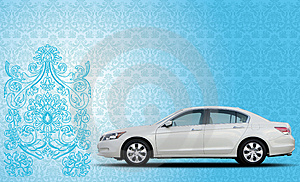 Car Illusion Stock Images