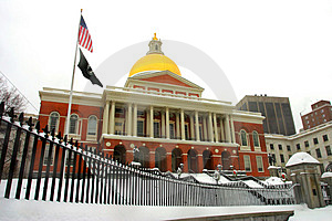 Boston Winter Royalty Free Stock Photo - Image: 4353545