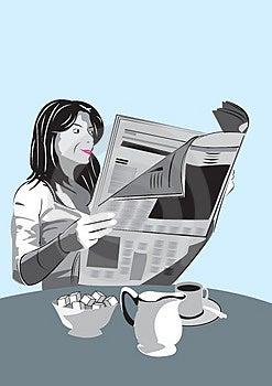 Morning News Stock Image - Image: 4354751
