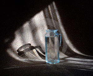 Carafe With Water Stock Photography - Image: 4357982