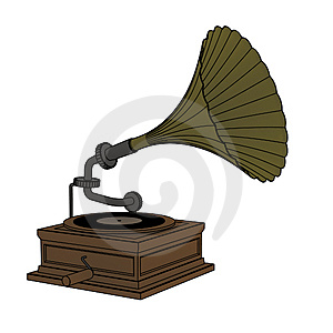 Old Gramophone Royalty Free Stock Photos - Image: 4358408
