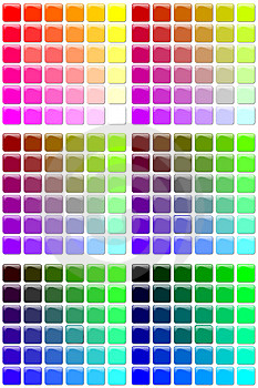 Color Tables Royalty Free Stock Photo - Image: 4360345