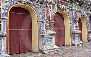 Asian Doorways Royalty Free Stock Photography - Image: 4361987