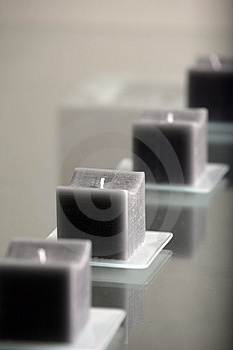 Modern Candles Royalty Free Stock Photos - Image: 4366108