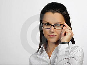 Pretty woman Royalty Free Stock Photography