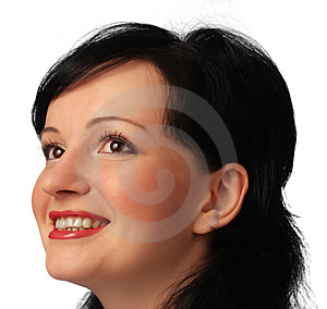 Portrait of the woman Stock Photos
