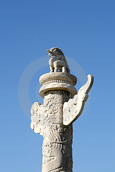Marble Pillar Stock Images - Image: 4369624