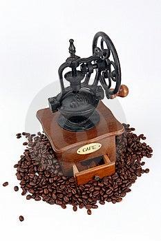 Coffee-grinder with coffee bins