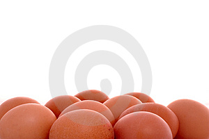 Eggs And Copyspace Royalty Free Stock Image - Image: 4373046