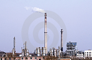 Petrochemical Industry. Royalty Free Stock Photos - Image: 4381358