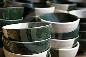 Ceramic Bowls Royalty Free Stock Photo - Image: 4387415