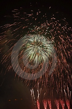 Fire Works Royalty Free Stock Image - Image: 4388826