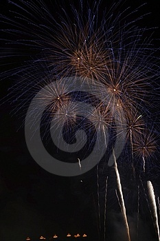 Fire Works Stock Image - Image: 4388841