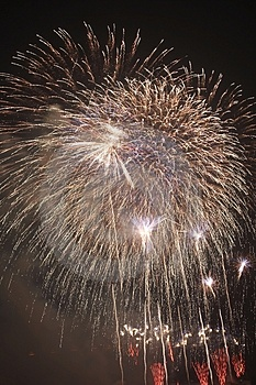 Fire Works Royalty Free Stock Images - Image: 4388849