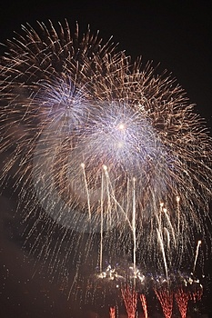 Fire Works Stock Image - Image: 4388851