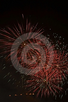 Fire Works Royalty Free Stock Images - Image: 4388859
