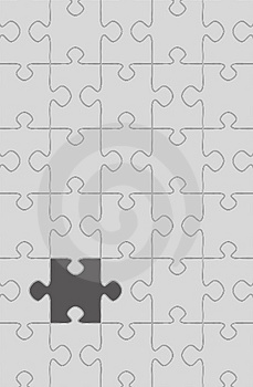 Puzzle game Stock Images