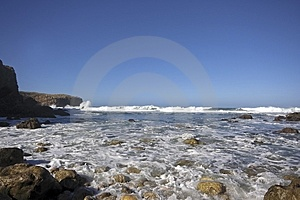 Rocky Coast In Portugal Royalty Free Stock Photos - Image: 4390838