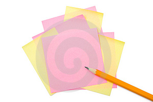 Pencil And Paper Royalty Free Stock Images - Image: 4394289