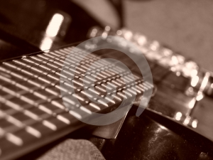 Electric Guitar BC Rich Stock Photography - Image: 445932
