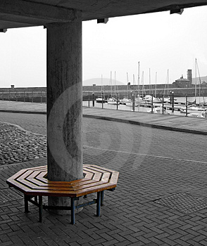 Circular Bench Royalty Free Stock Images - Image: 449619
