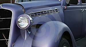Vintage Headlights Royalty Free Stock Image - Image: 4402606