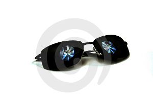Sunglasses With Studio Lighting Stock Photography - Image: 4405792