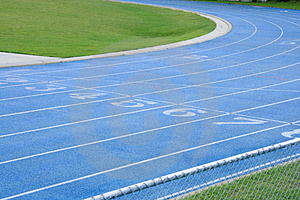 Abstract Athletic Track Royalty Free Stock Photos - Image: 4407108