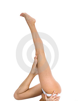 Woman legs Stock Photos
