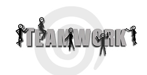 Teamwork Royalty Free Stock Image - Image: 4407416
