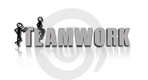 Teamwork Stock Photo - Image: 4407430