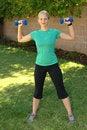 Full body fitness Stock Images