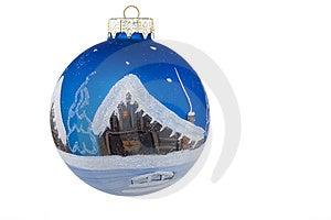 Christmas ball Free Stock Photo